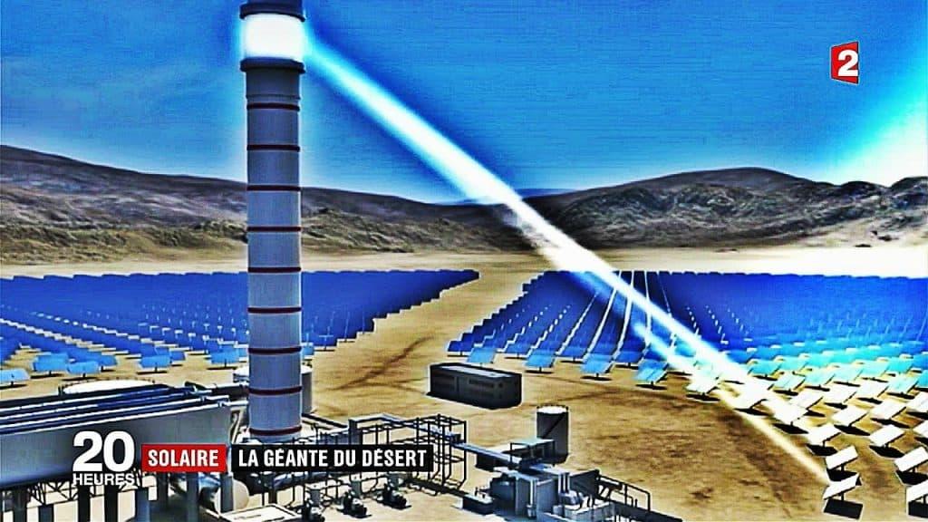 La plus haute tour solaire du monde