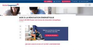 Rénovation énergétique Action Logement